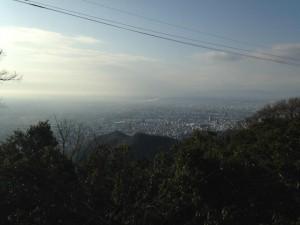 金華山 山頂 登山