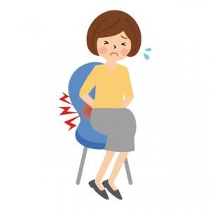 座る 腰痛 1